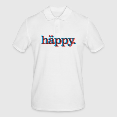 Happy! Happy blurry Birthday! - Männer Poloshirt