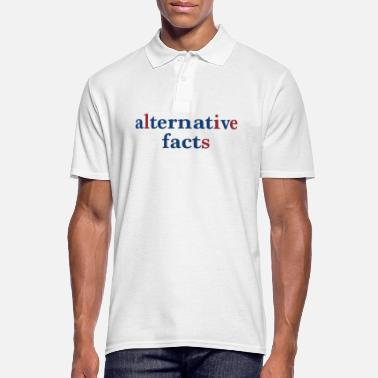 Alternative alternative facts - Männer Poloshirt