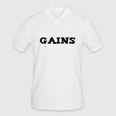 GAINS - Polo Homme