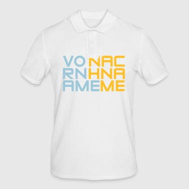 first name Last Name - Men's Polo Shirt