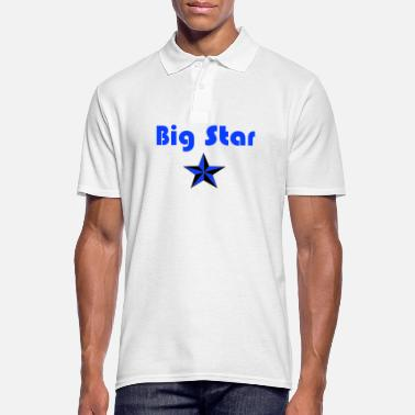 Big Stars Big Star Design - Men's Polo Shirt