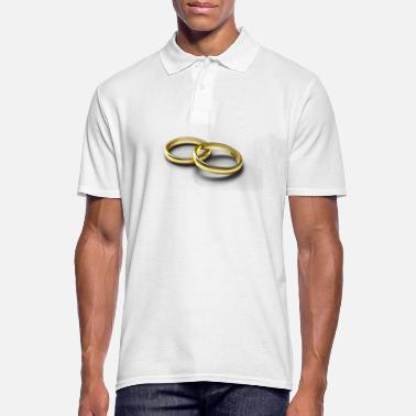 Wedding Ring wedding rings - Men's Polo Shirt