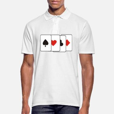 Cards cards - Men's Polo Shirt