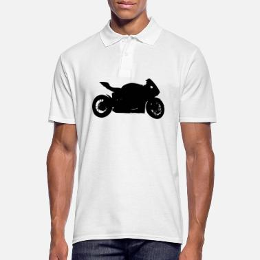 Racing Motorcycle Motorcycle racing - Men's Polo Shirt