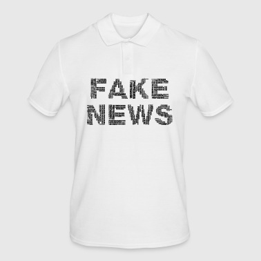 FAKE NEWS - Mannen poloshirt