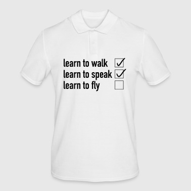 Learn to fly - Men's Polo Shirt