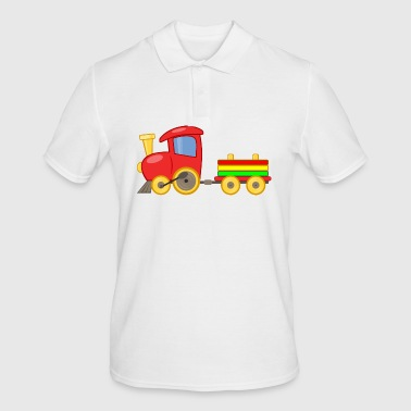 Steam locomotive for kids - Men's Polo Shirt
