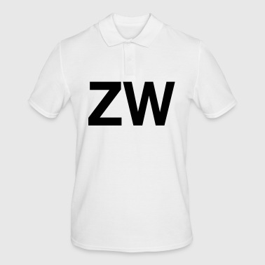 ZW Initials - Men's Polo Shirt