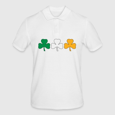 Ireland Shamrock Flag - Men's Polo Shirt