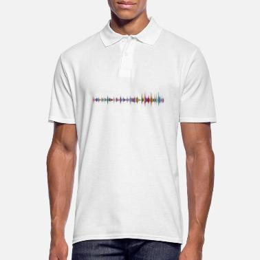 Record sound - Men's Polo Shirt