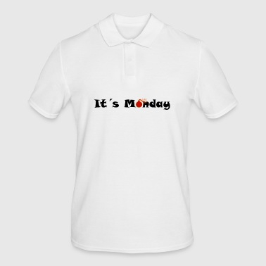 It's Monday - Men's Polo Shirt