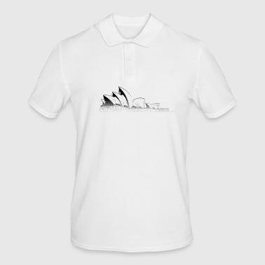 Around The World: Opera House - Sydney - Men's Polo Shirt