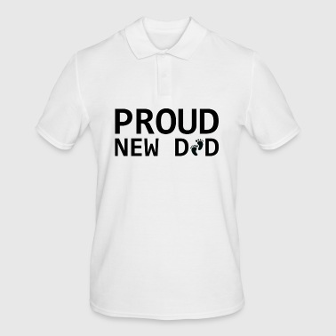 Cool Proud New Dad.Gifts for New Baby father,daddy - Men's Polo Shirt