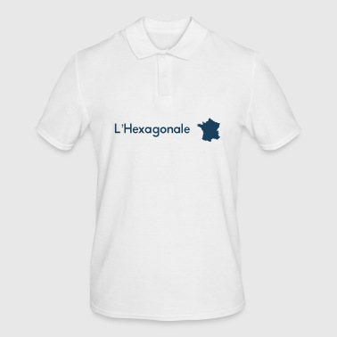 The Hexagon - Men's Polo Shirt