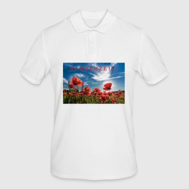 Poppies summer time - Men's Polo Shirt