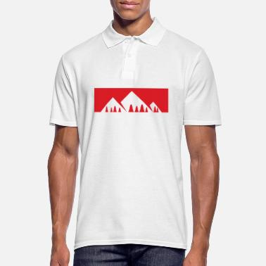 Montagne La montagne appelle - montagne, montagnes - Polo Homme