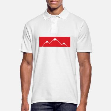 Montagne La montagne appelle! - Montagnes, montagnes - Polo Homme
