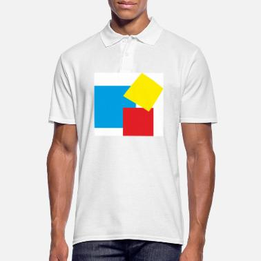 Rectangle rectangles - Men's Polo Shirt