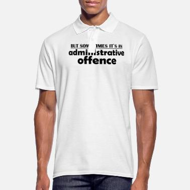 Offensive offense - Men's Polo Shirt