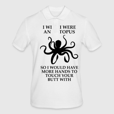 I wish i were an octopus The cult shirt - Men's Polo Shirt