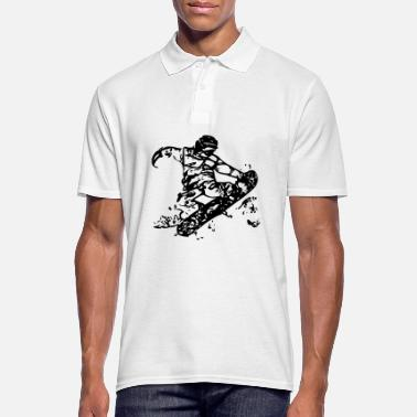 Snowboard snowboarders - Polo Homme