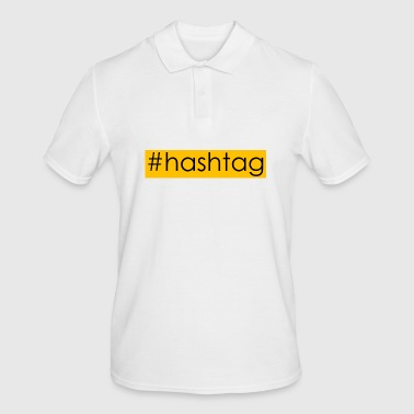 hashtag #hashtag - Men's Polo Shirt