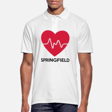 Springfield Heart Springfield - Men's Polo Shirt