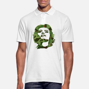 Che Guevara camouflage cuba revolution anti arms star che lol - Men's Polo Shirt