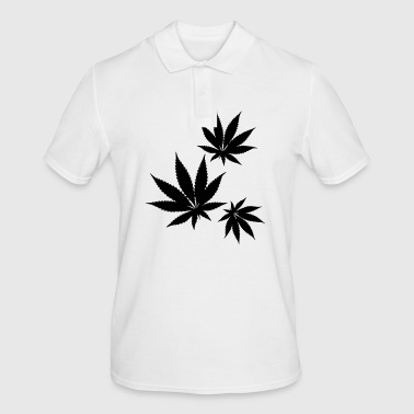 Feuille De Cannabis Feuille de cannabis cannabis - Polo Homme