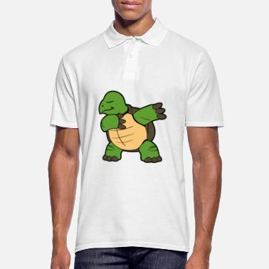 Tortue Dabbing Dab tortue - Polo Homme