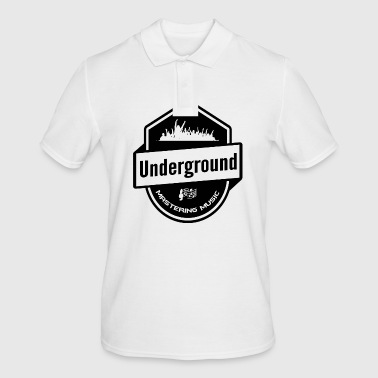 Underground - Mastering Music - Musique Clubbing - Polo Homme