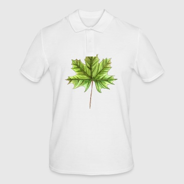 Leaf of a maple - Men's Polo Shirt