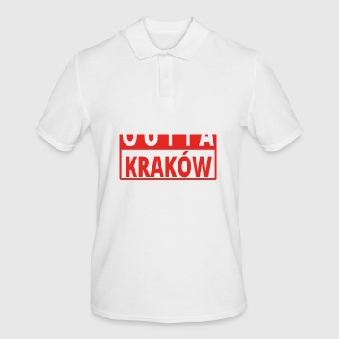 Straight outta Polska Krakow - Men's Polo Shirt