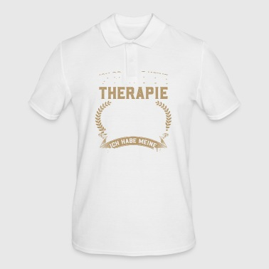 Model Train - My Therapy - Men's Polo Shirt