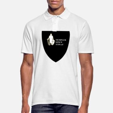 Templar Knights Templar Shield - Men's Polo Shirt