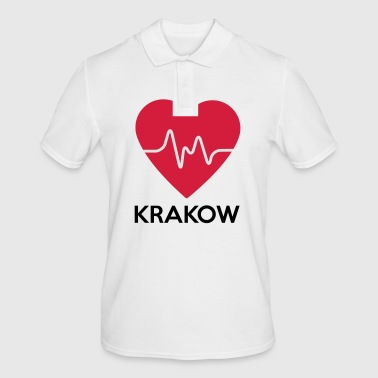 heart Krakow - Men's Polo Shirt