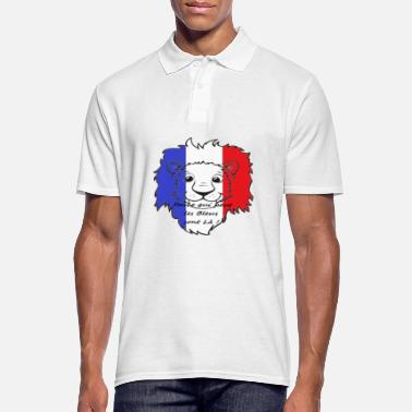 Portebonheur Lion supporter France - Polo Homme