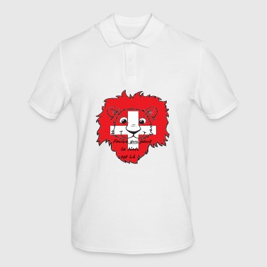 Lion supporter Suisse - Polo Homme