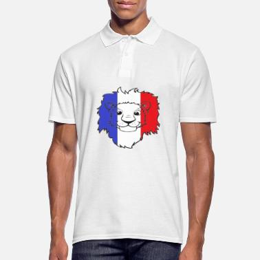 Portebonheur Lion France - Polo Homme
