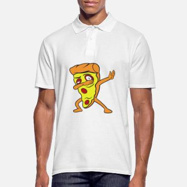 Pizza Dabbing Dab Pizza - Polo Homme