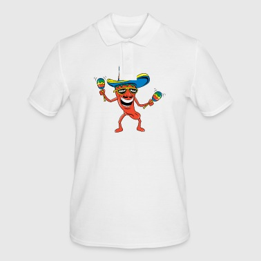 Mexican Mexican Chili Pepper Funny Mexican - Men's Polo Shirt