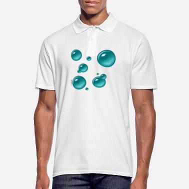 Air Bubbles Bubbles - Men's Polo Shirt