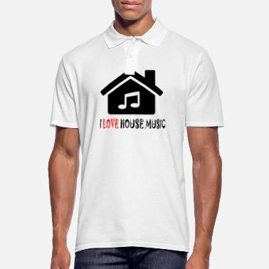 House House Music House Party Shirt - Polo hombre