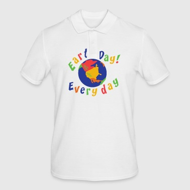 Earth Day Every Day - Polo Homme