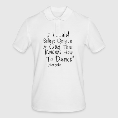 Quotes Dancing quote - Men's Polo Shirt