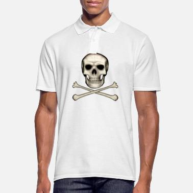 Skull And Crossbones Skull and Crossbones - Men's Polo Shirt