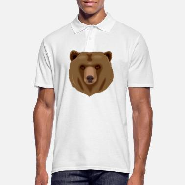 Grizzly Oso grizzly - Polo hombre