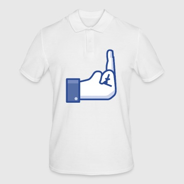 middle finger - Men's Polo Shirt