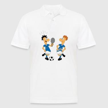 Shop soccer polo shirts online spreadshirt for Soccer coach polo shirt