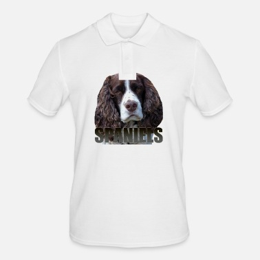 Spaniel Spaniel - Men's Polo Shirt